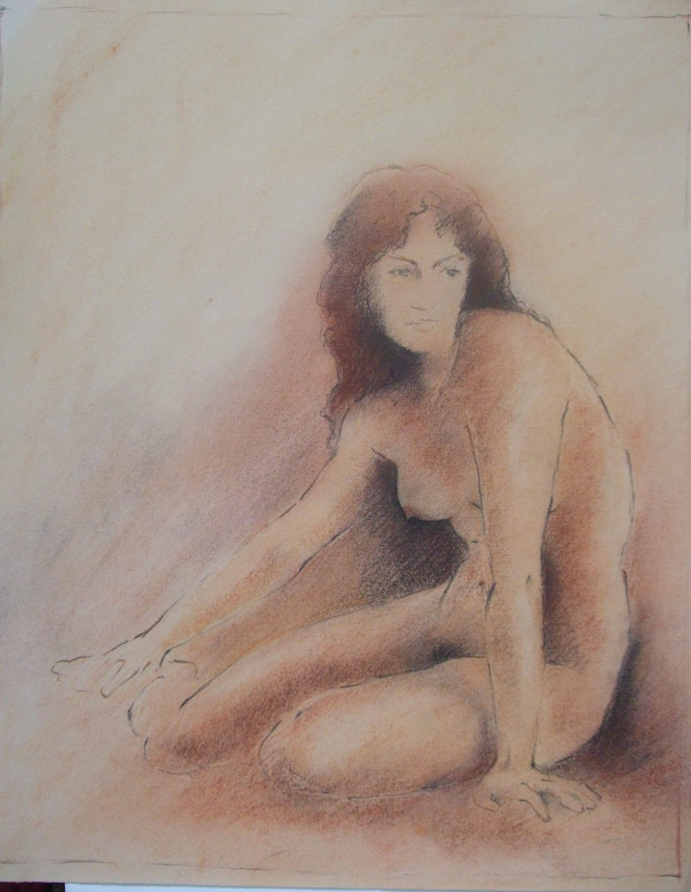 Life Drawing in Chalks