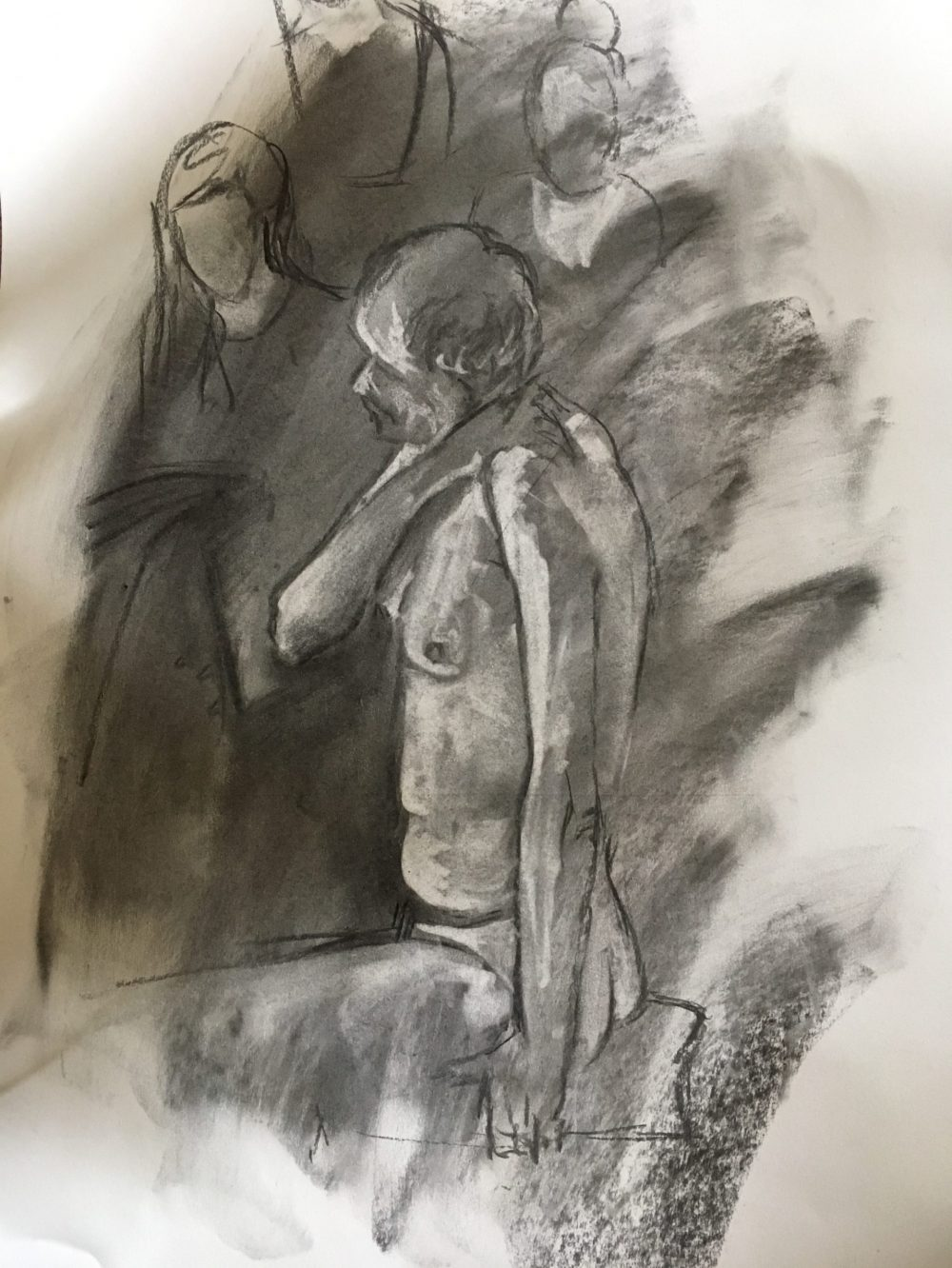 Figures in Charcoal