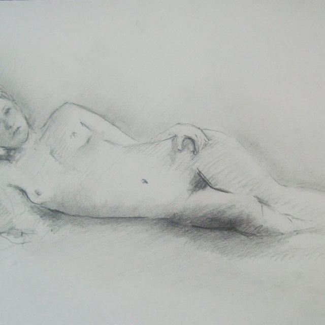 Life Class Drawing