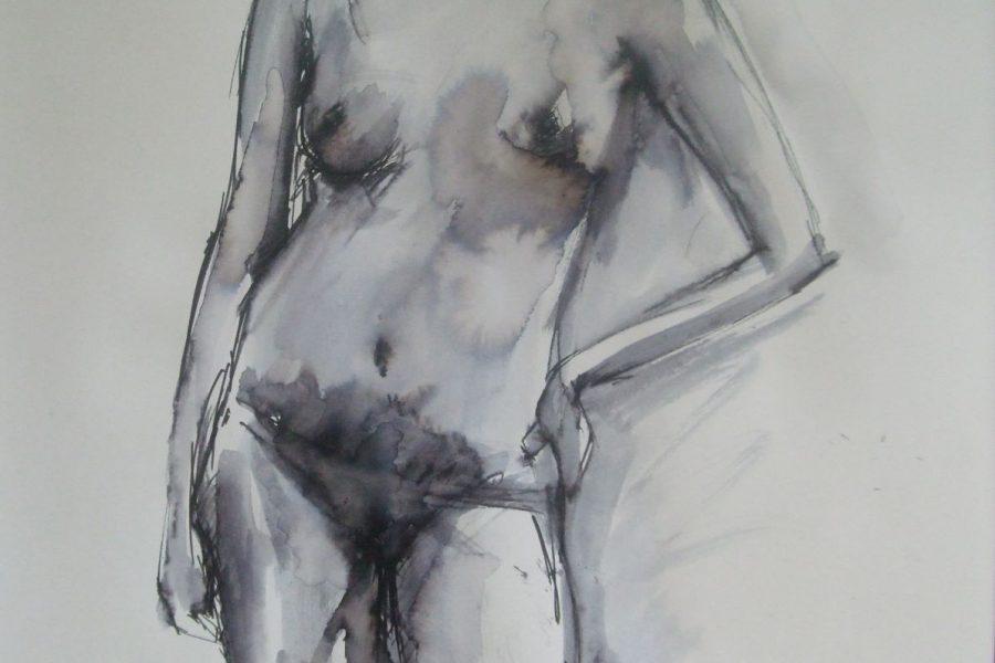 Pen and Water Sketch II