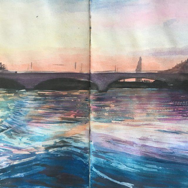 Chiswick ~ Watercolour Sketch
