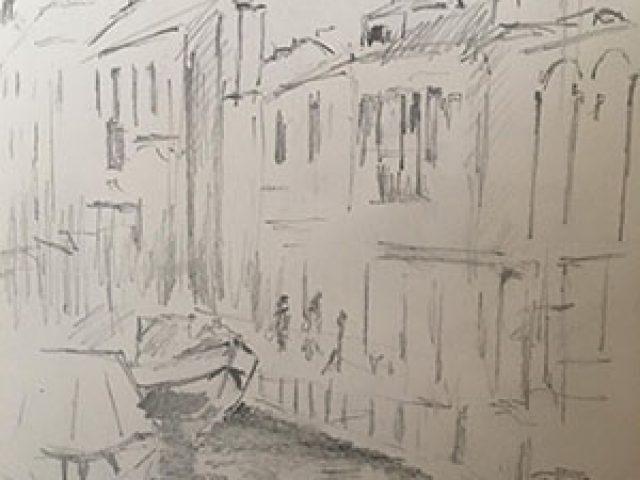 Venice ~ Graphite Sketch